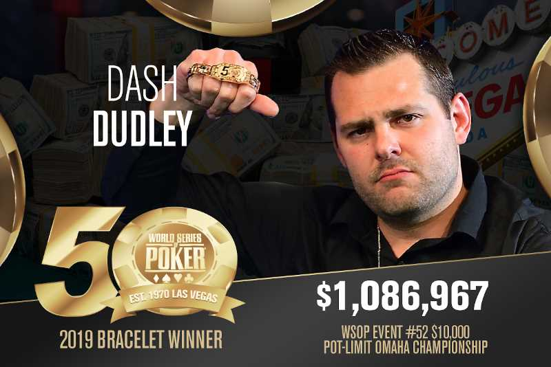 Dash Dudley (US) - Sieger Event #52 WSOP 2019