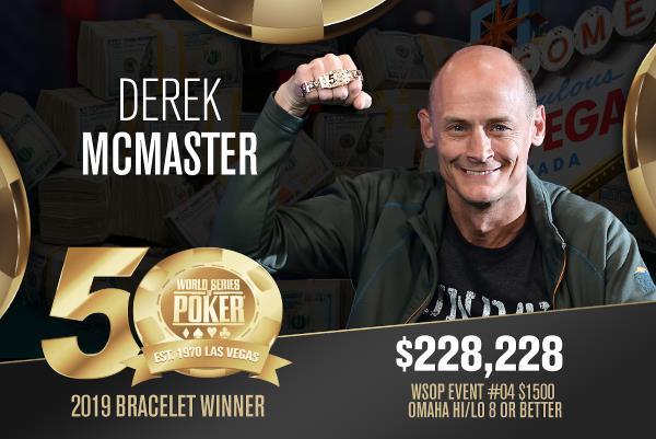 Derek McMaster (US) - Sieger Event #4 WSOP 2019