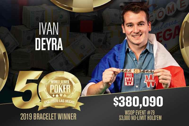 Ivan Deyra (FR) - Sieger Event #79 WSOP 2019