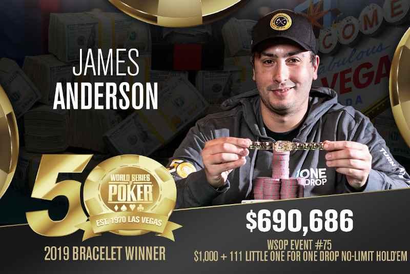 James Anderson (US) - Sieger Event #75 WSOP 2019