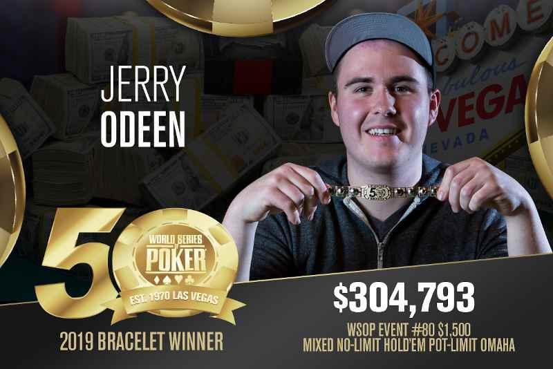 Jerry Odeen (SE) - Sieger Event #80 WSOP 2019