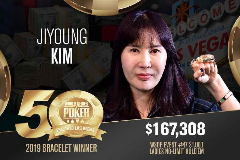 Ji young Kim (KR) - Sieger Event #47 WSOP 2019
