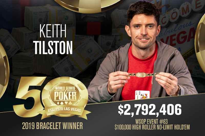 Keith Tilston (US) - Sieger Event #83 WSOP 2019