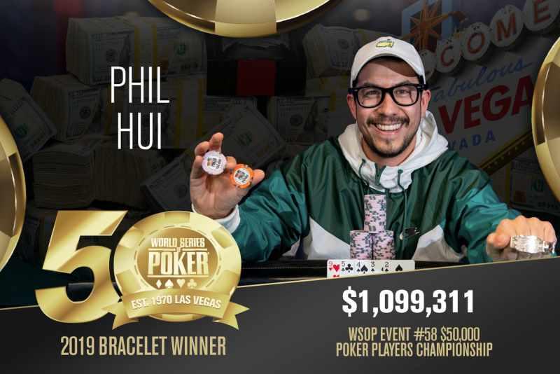Phillip Hui (US) - Sieger Event #58 WSOP 2019
