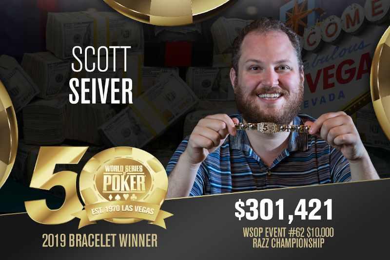 Scott Seiver (US) - Sieger Event #62 WSOP 2019