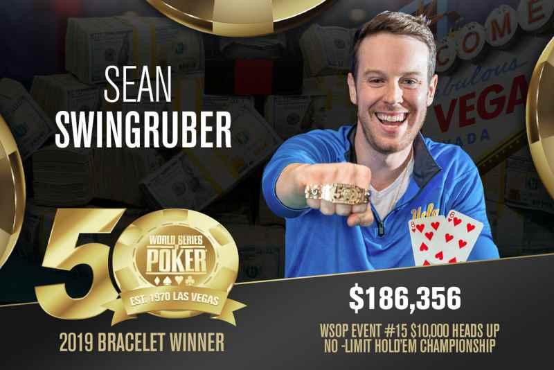 Sean Swingruber (US) - Sieger Event #15 WSOP 2019