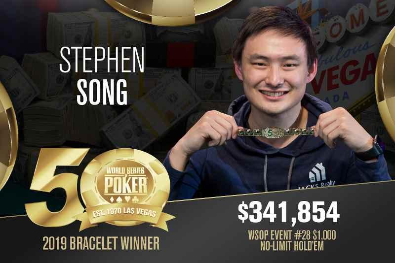 Stephen Song (US) - Sieger Event #28 WSOP 2019