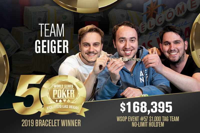 Barak Wisbrod (IL) - Sieger Event #57 WSOP 2019