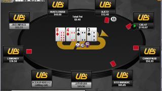 UB Poker Tisch