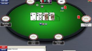 Inter Poker Tisch