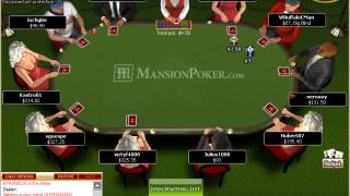 Mansion Poker Tisch