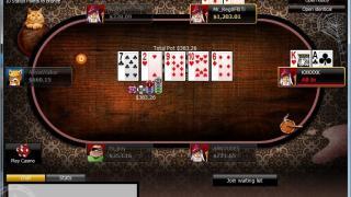 888poker Tisch