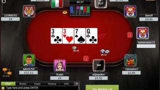 Ladbrokes Poker Tisch