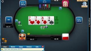 William Hill Poker Tisch