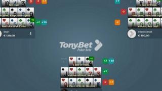 TonyBet Tisch