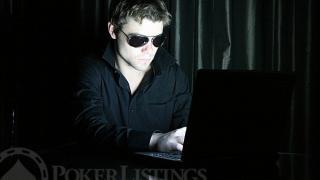 Player at computer
