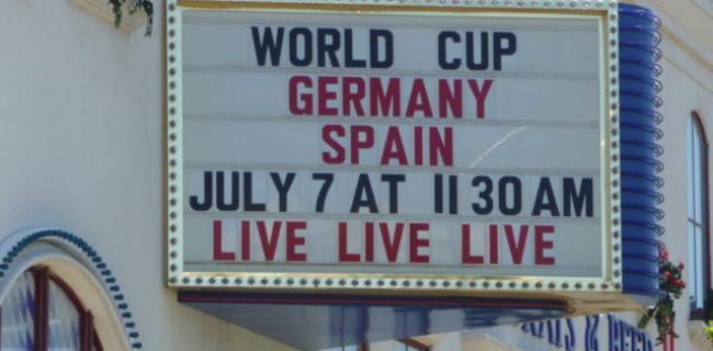 Das erste Mal in Vegas - Fußball im Hofbräuhaus