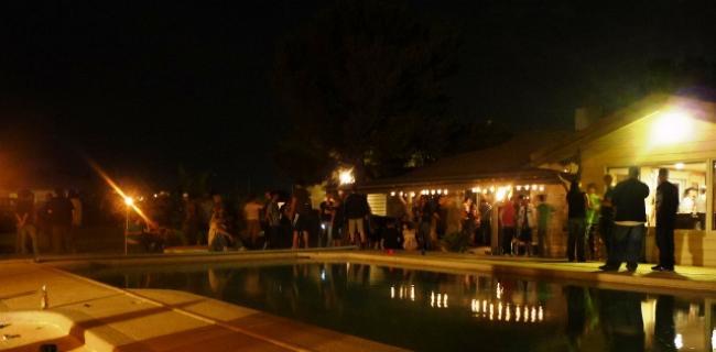 Das erste Mal in Vegas - Party auf der Ranch (2)