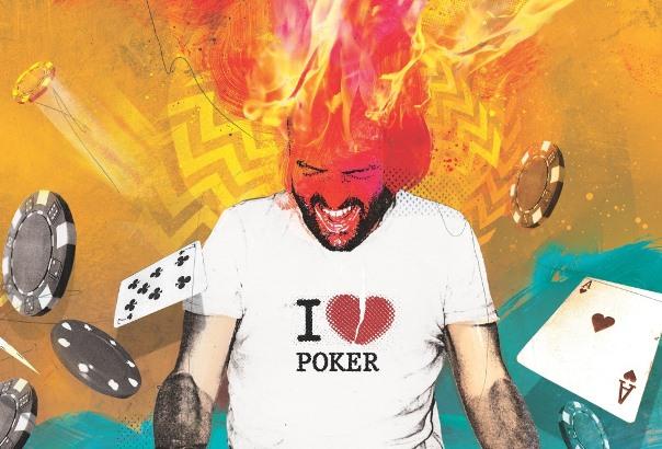 Tilt3 poker player on tilt