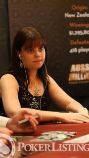 Annette Obrestad Aussie Millions 2013 3