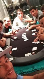 Neymar Poker Night