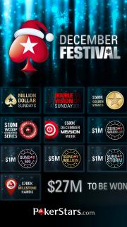 pokerstars December Festival full