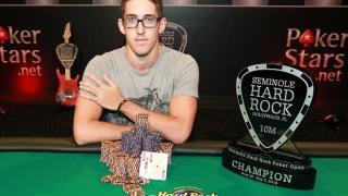 Daniel Colman gewinnt SHRPO Main Event