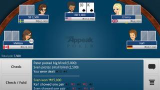 Appeak Poker screenshot