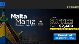 BOM malta mania 888