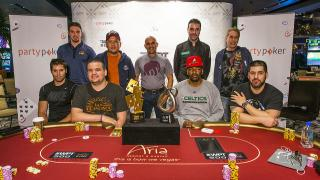 Der Final Table beim WPT500 im Aria