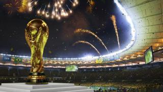 FIFA Fussball Weltmeisterschaft Brasilien 2014 Pokal