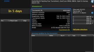 Fasching Freeroll bei 888poker