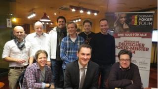 Die Finalisten der Deutschen Pokermeisterschaft 2014