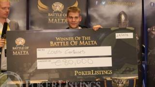 Louis Cartarius Battle of Malta 2013