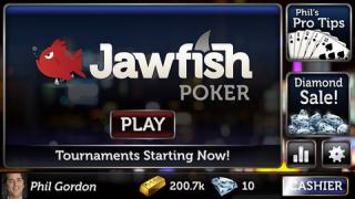 Jawfish Poker Logo