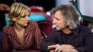 Jen Harman mit Regisseur Hanson
