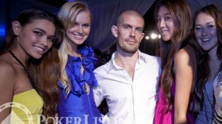 Gus Hansen and girls