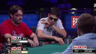 Mark Newhouse WSOP Main Event 2014 Feature Table Tag 7e