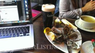 Austern Guinness