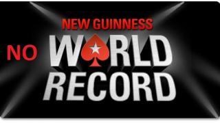 Pokerstars kein Weltrekord