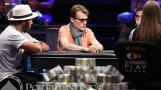 Rick Salomon und Christoph Vogelsang am Final Table des Big One for One Drop