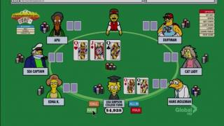 Simpsons poker2