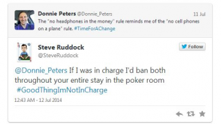 Steve Ruddock Tweet
