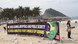WM Proteste Brasilien
