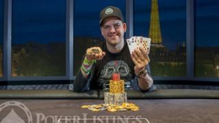 WSOP Bracelet Winner Noah Schwartz2013 WSOP EuropeEV063K PLO Mixed MaxFinal TableGiron8JG1435