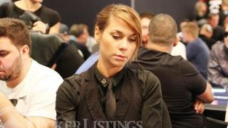 female poker dealer beautiful