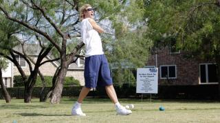 dirk nowitzki golf