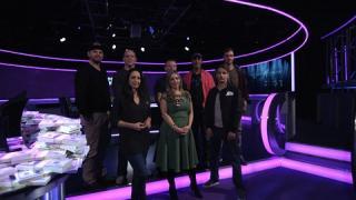 Die Finalisten von Shark Cage darunter Ole Schemion und Philipp Gruissem