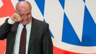 uli hoeness crying dpa