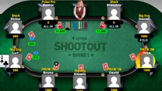 zynga poker table